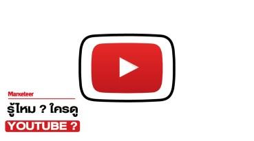 อยากรู้ไหม ? คนไทยดู Youtube เป็นยังไง ?