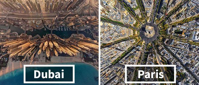 รวมภาพเมืองจากมุมสูงที่คุณอาจไม่เคยเห็นมาก่อน