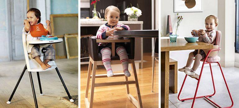 14 เก้าอี้สูงสำหรับเด็กเล็กด้วยดีไซน์สุดโมเดิร์น