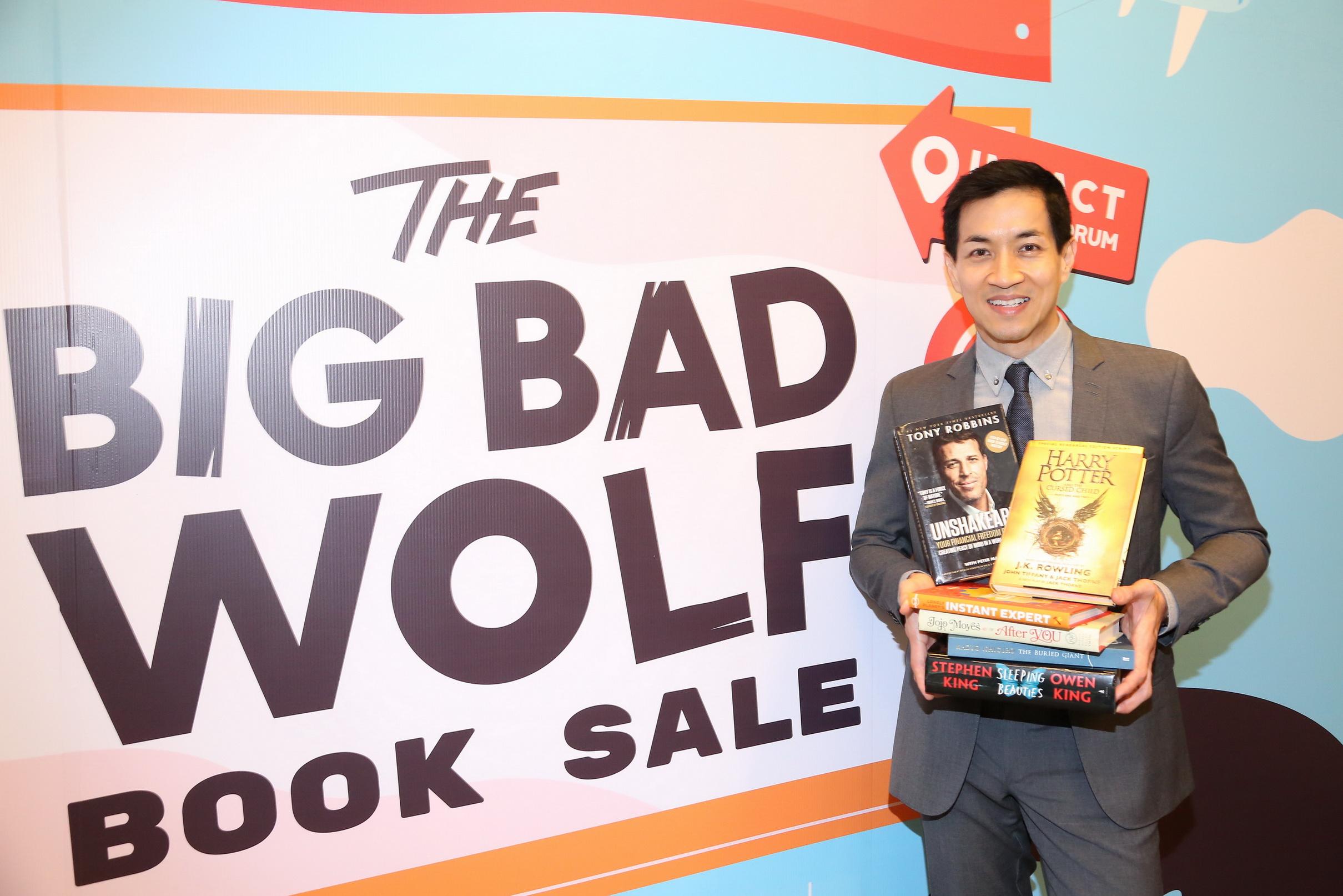 มหกรรมงานหนังสือนานาชาติ Big Bad Wolf Book Sale Bangkok 2018 จัดเต็มจุใจ 11 วัน ต่อเนื่อง 255 ชั่วโมง!