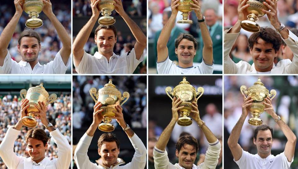 Cristia Ronaldo Roger Federer Trophies