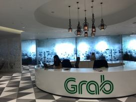 พาชม Grab Office @ Singapore