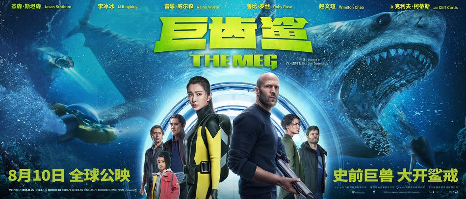 The Meg Chinese Cast